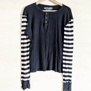 Beetlejuice Hot Topic Striped Long Sleeve Thermal